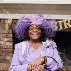 Mother of Rev Paul Jones, Pauline Simmons (First Lady & Msy)