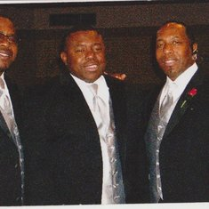 Rev. Paul's brothers:  Jesse, Don & Tyrone
