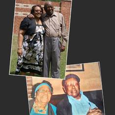 Pastor & First Lady Simmons, mother/stepfather