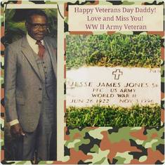The Late Jesse J. James Jones Sr., Father of Rev. Paul Jones