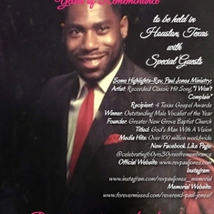 Celebrating 60 years of Legacy and 30 Years of Remembrance!