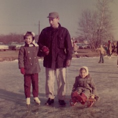 Winter 1967 at Strawbridge Lake