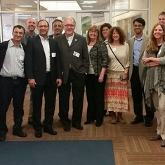 At PK Yonge School Tour with Israel Delegation, Gainesville FL