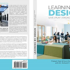Cover of Learning by Design -- Inspired and Co-Authored by Prof. Richard Elmore