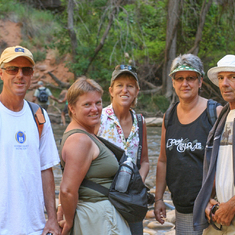The Motley Crew at Zion N.P.