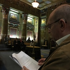 Philadelphia masonic temple visit (Nov 2016)