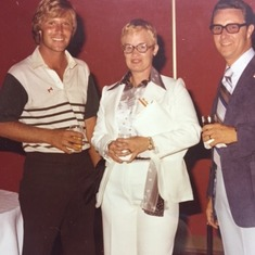 Ben Crenshaw, Mom and Dad.