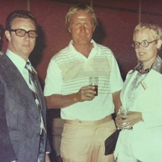 Jack Nicklaus with Mom and Dad