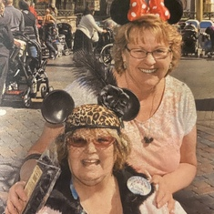 We had some of our best times at Disneyland! She was such a kid at heart!