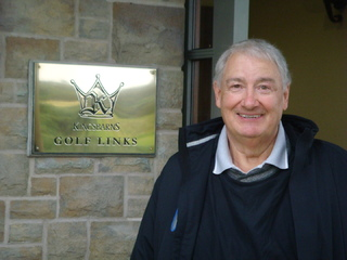 At Kingsbarns GC Scotland
