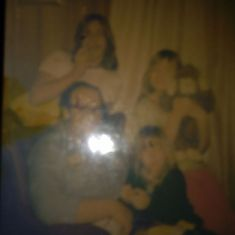 Our daddy and Bobby ray and Tammy and Kelly jo