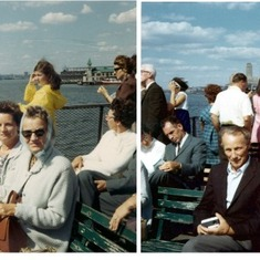 NYC Ferry with Uncle Teo & Aunt Margo 2 (Photo dated Sept 1968)