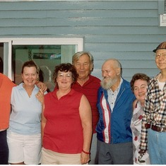 Family Gathering at Lisa or Charlie Browns Aug 20, 1988