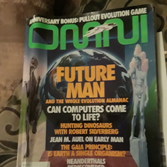 Omni magazine, placed an article on gaming.