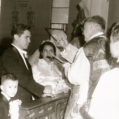 Wedding October 16, 1954