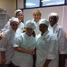 what a great group of women!  Chef made us strong!  Love and miss her.