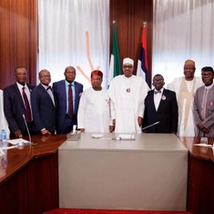 Affordable Medicines Initiative for Nigeria - Boards Courtesy call on PMB