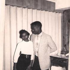 Sampson and Rutha aka mom and dad 1963