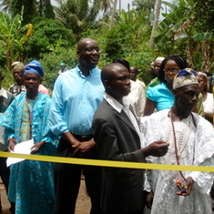 Supporting rural development in Ajegbede village