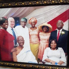Seyi & in-laws