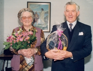 Charles and Betty's Farewell Service as they leave Holland and Belgium for the final time and return to Wales in 1995.