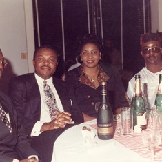 Mr. Chike Chikeluba, Shawcross & Wife (Eve), Mr. Sly Obika