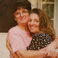 Mom and Jeanette,  c. 1992