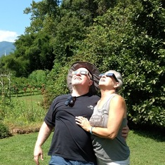 Total eclipse 2017 (Stephen and Judy)