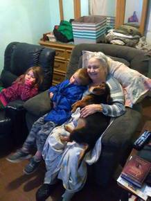 Sue loved her great grand kids