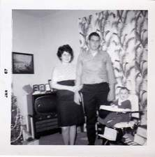 mom and dad in 1967