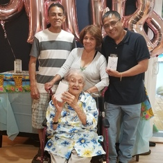 We love you Abuela! You have been the BEST grandmother I can ever ask for!