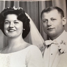 wedding photo 1965