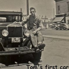 1948 - Tom's first car, a 1930 Model A