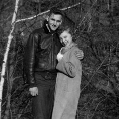 Tom and Rena, Oct. 1950