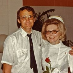 Rena's Pinning Ceremony at Anoka Ramsey State Jr College, June 14, 1973