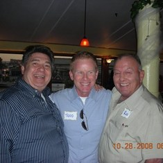 Todd with two great friends, Dick and Jerry