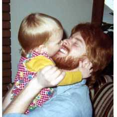 Todd and his nephew Aaron in 1976.