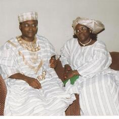 Toks and Ntie - my mum and dad