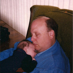 Tom Shafer - Tom and baby Zach