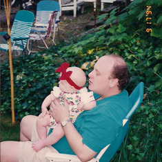 Tom Shafer - with baby Madison