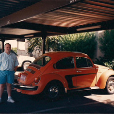 Tom Shafer - Tom with the Orange Bug