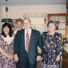 Tom Shafer - with Brenda and Grandma