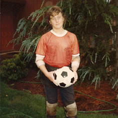 Tom Shafer - Soccer 1982