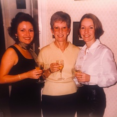 Val with her daughters, Julia and Louise in the late 90s!