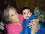 Grandma and Jacob 2008