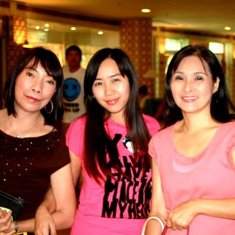 auntie with tita nilda and her neice