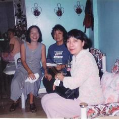 During my Despedida Party bound for US in Nov. 1998