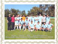 Soccer team for the 2012 Chilean Inter-Observatory Olympics