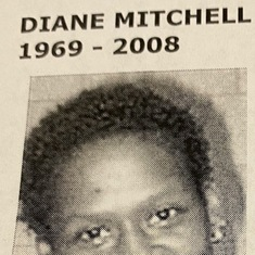 Diane Mitchell (deceased youngest daughter)