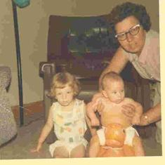 Carla and Jeff Cowdery with Grandma